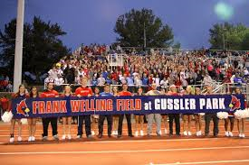Last September, at a Football game,  Thomas Worthington honored Coach Gussler by naming the baseball field after him.
