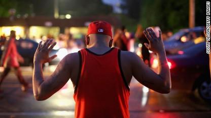 <> on August 15, 2014 in Ferguson, Missouri.
