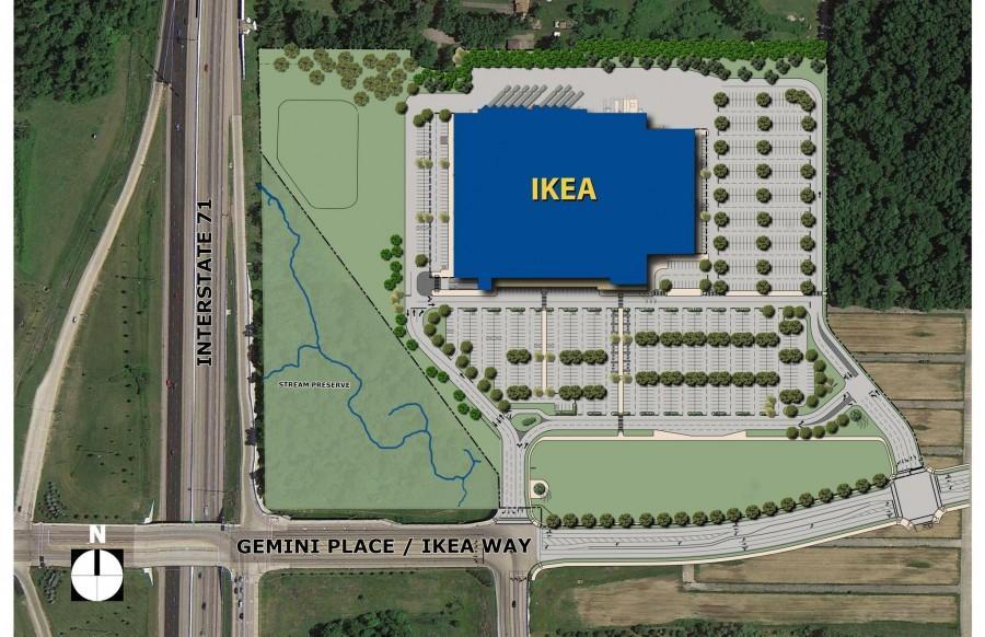 Ikea Opens Store in Columbus – TWHS NEWS on kroger cincinnati map, ikea cincinnati address, metro cincinnati map, ikea cincinnati hotels,