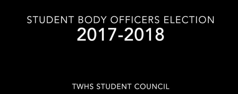 STUDENT BODY OFFICERS ELECTION 2017-2018