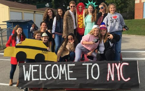Homecoming Parade: A Night In The City