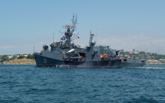 Ukraine Ships Attacked by Russian Vessels