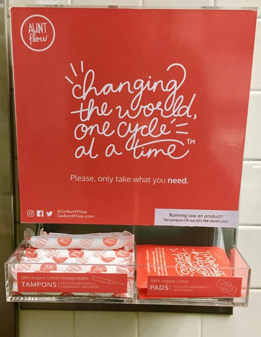 TW Students Make Menstrual Products Accessible to All– PERIOD